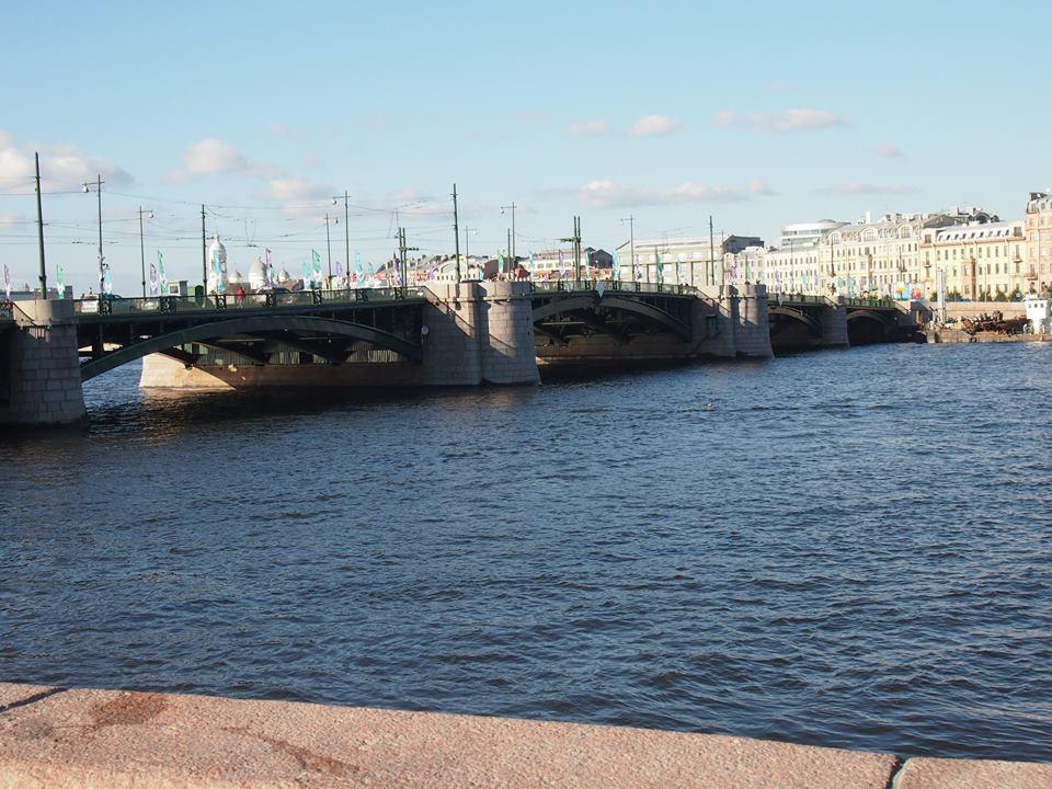 река Нева Санкт Петерсбург
