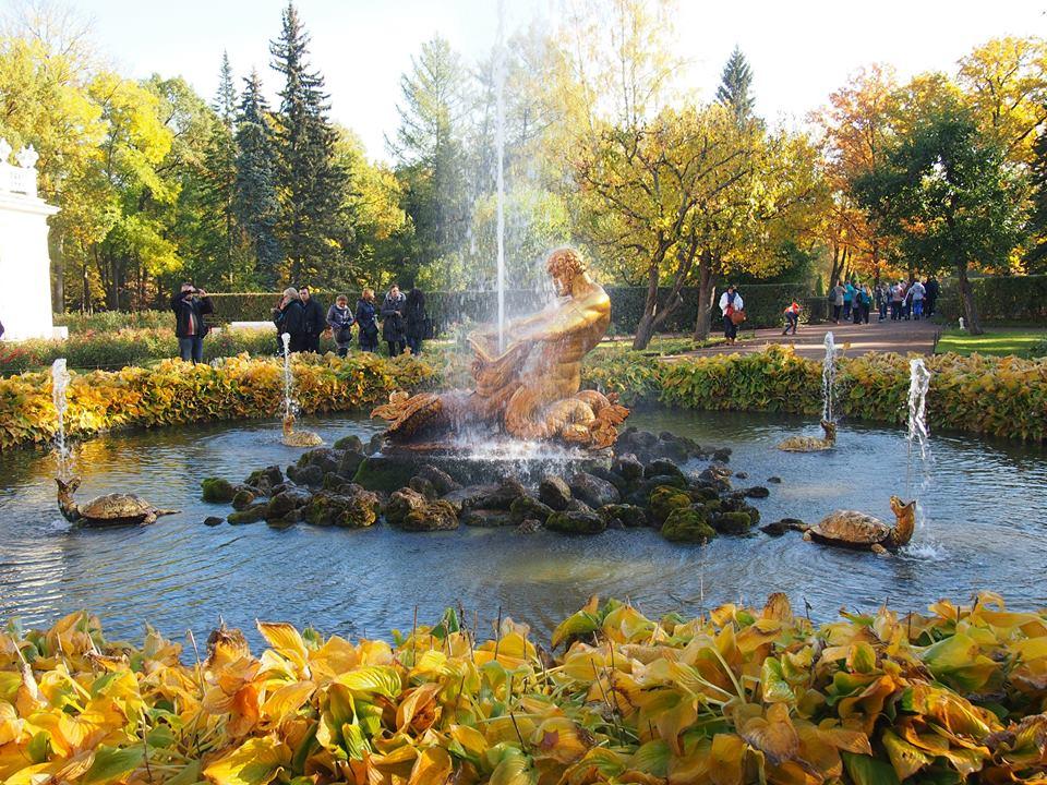 фонтан петерсхоф